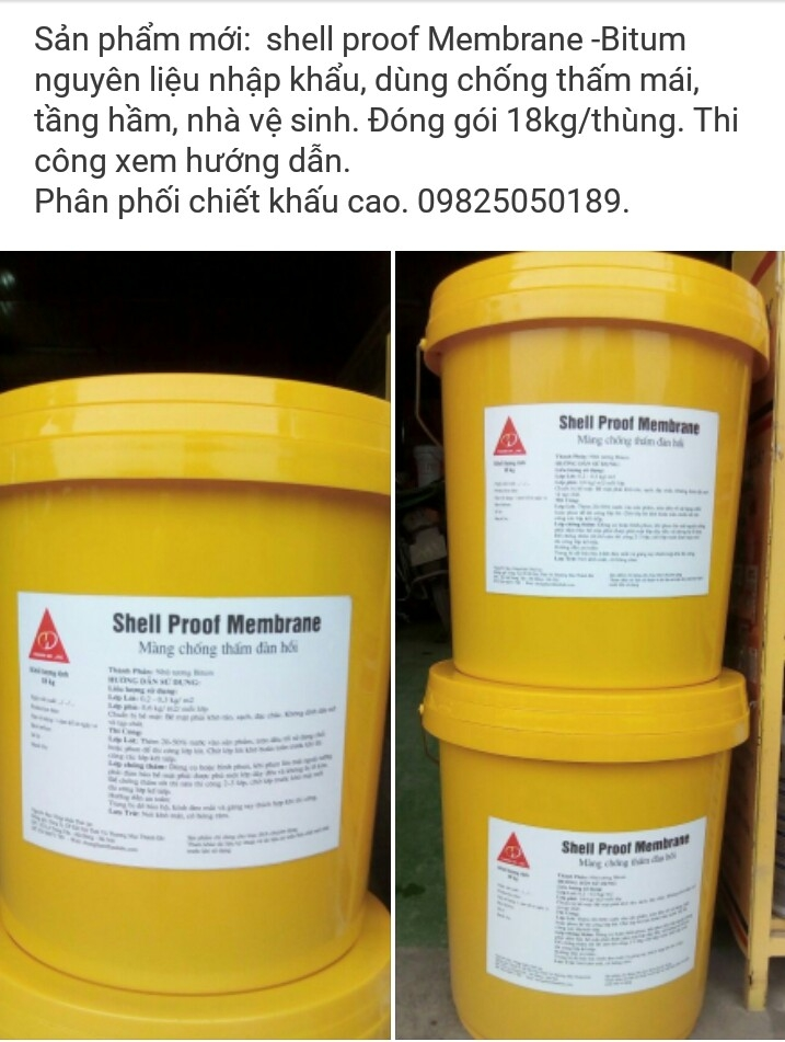 Chống thấm Shell Proof Membrane